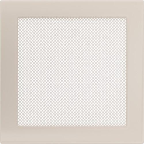 Standartinės kreminės židinio grotelės 22x22