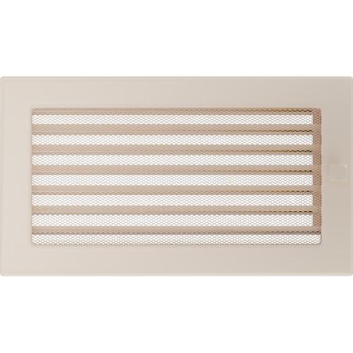 Standartinės kremenės židinio grotelės 17x30 su žaliuzi