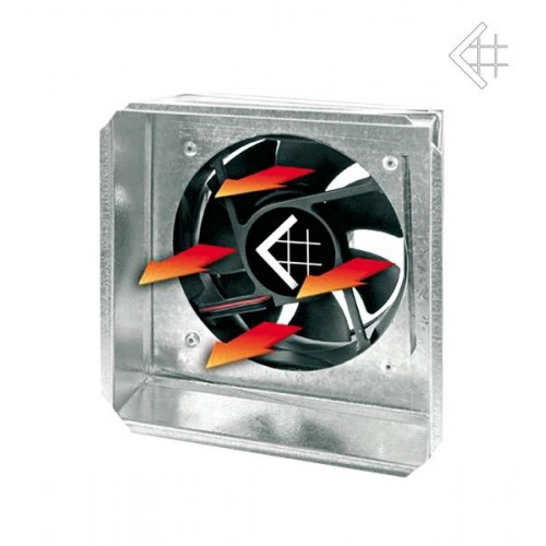 KRATKI ventiliatorius 17*17 su davikliu